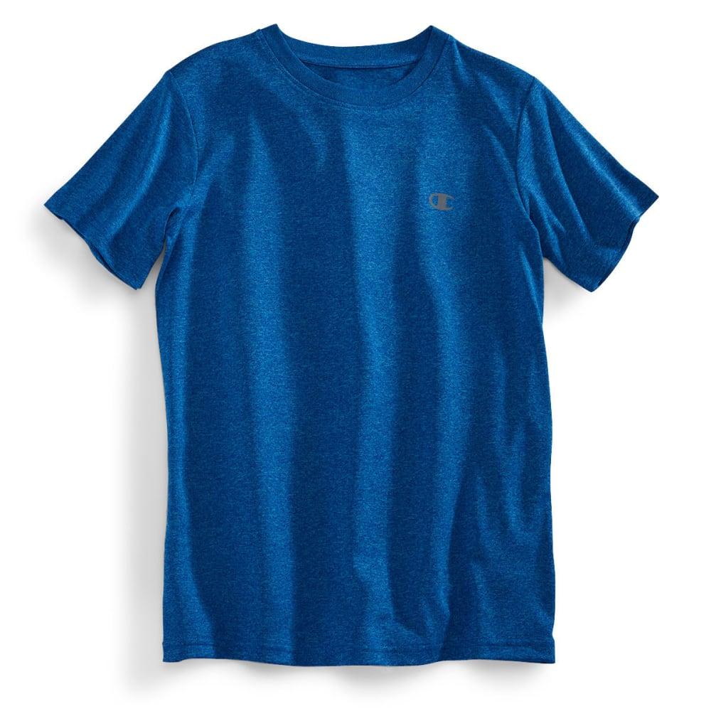 CHAMPION Boys' Power Train Tee - BLUE SAPH HTHR-BLU