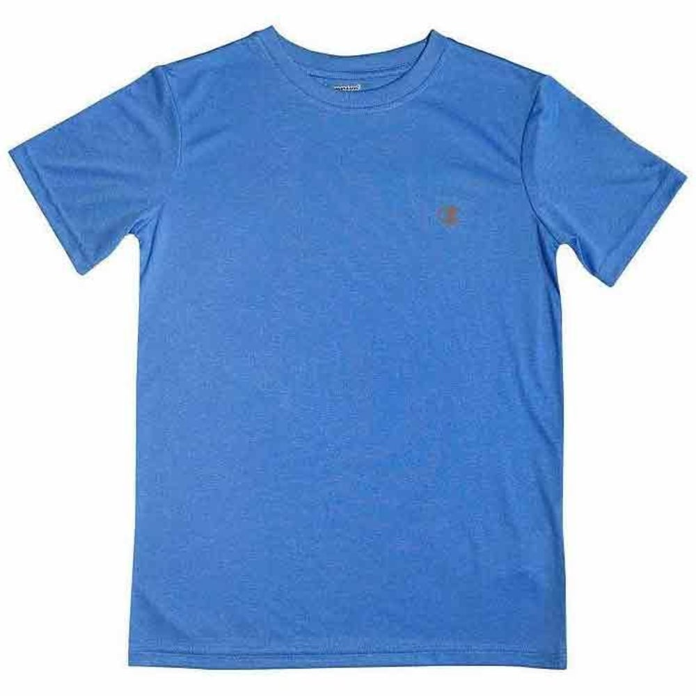 CHAMPION Boys' Power Train Tee - AWESOME BLUE