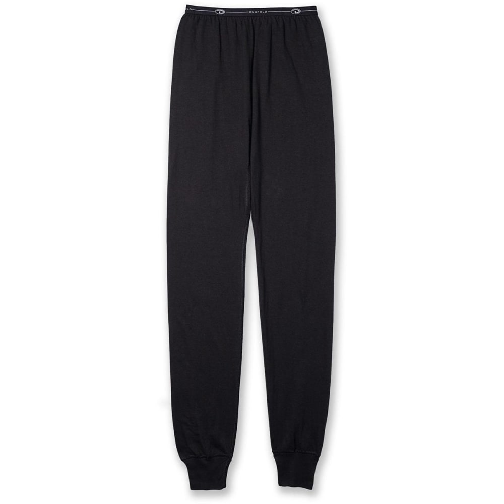DUOFOLD by Champion® Youth Midweight Thermal Bottoms - BLACK