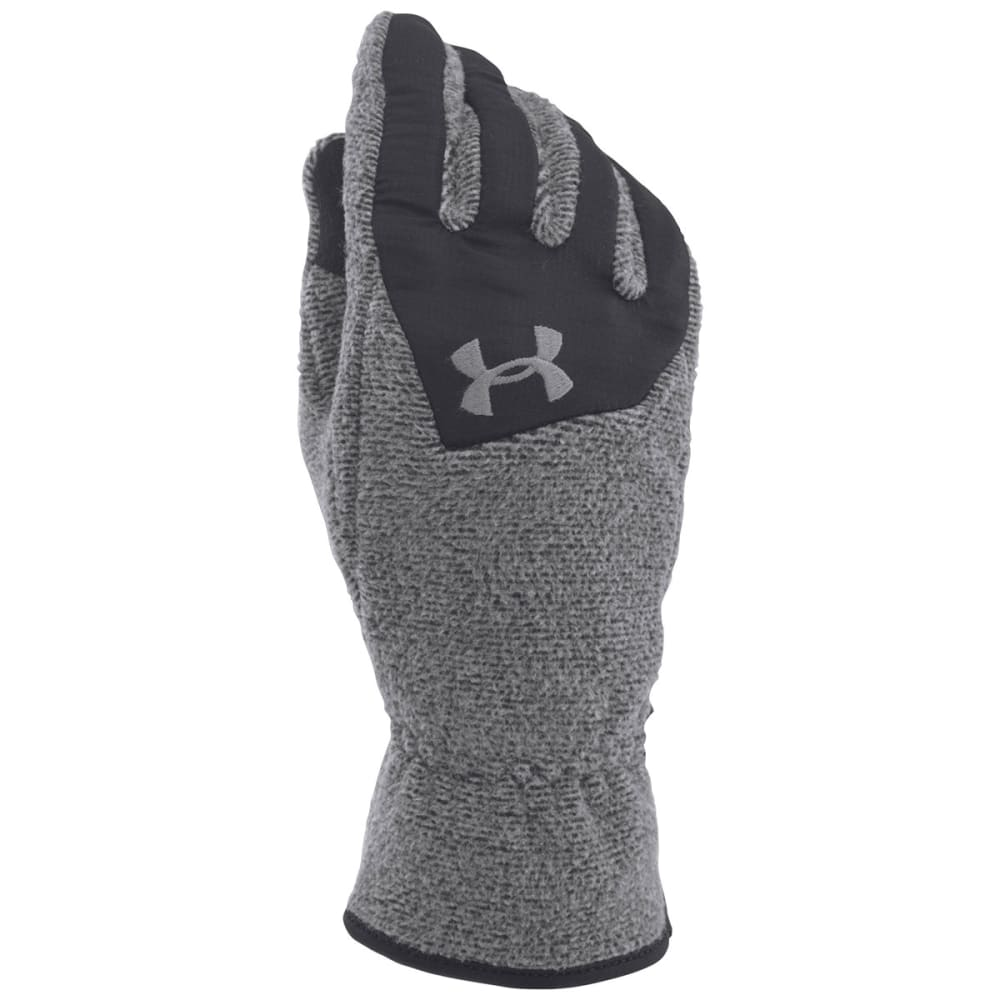 UNDER ARMOUR Boys' Survivor Fleece Gloves - BLACK
