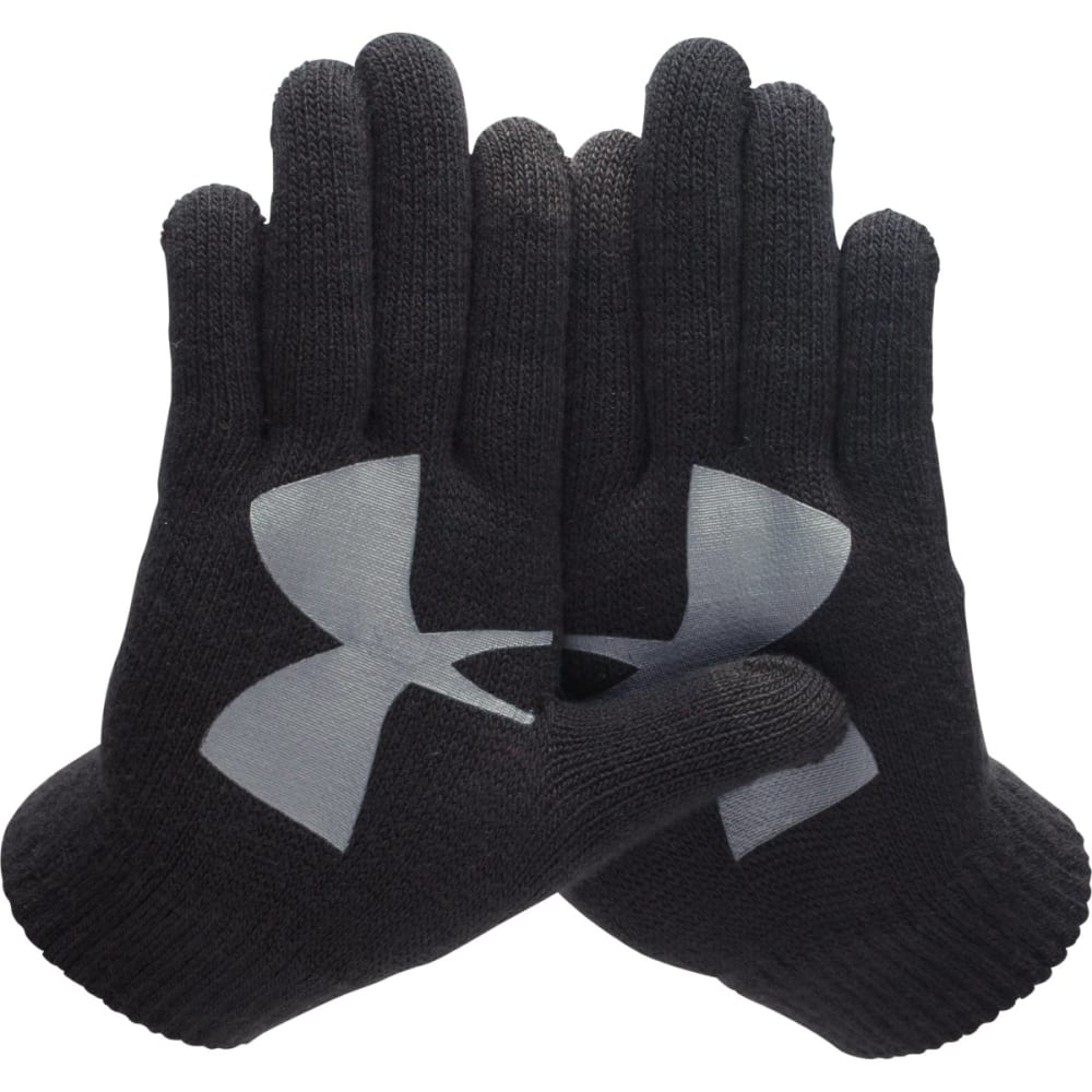 UNDER ARMOUR Boys' UA Chillz Glove 3pk - BLACK