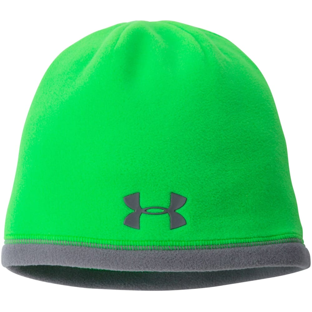 UNDER ARMOUR Boys' Storm ColdGear® Infrared Elements Beanie - GREEN
