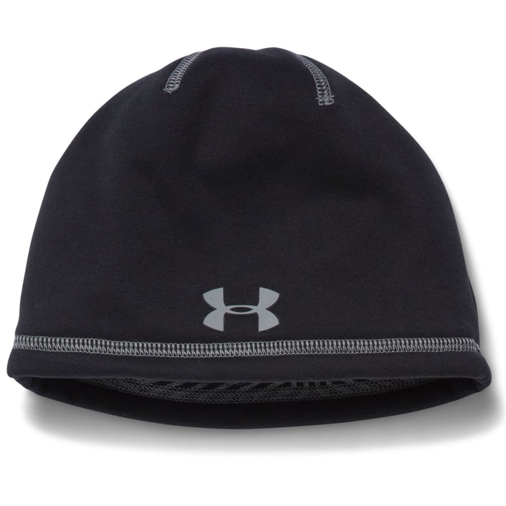 UNDER ARMOUR Boys' Elements Beanie - BLACK