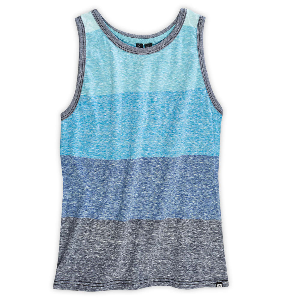 OCEAN CURRENT Boys' Blue Jay Striped Tank - BLUE JAY