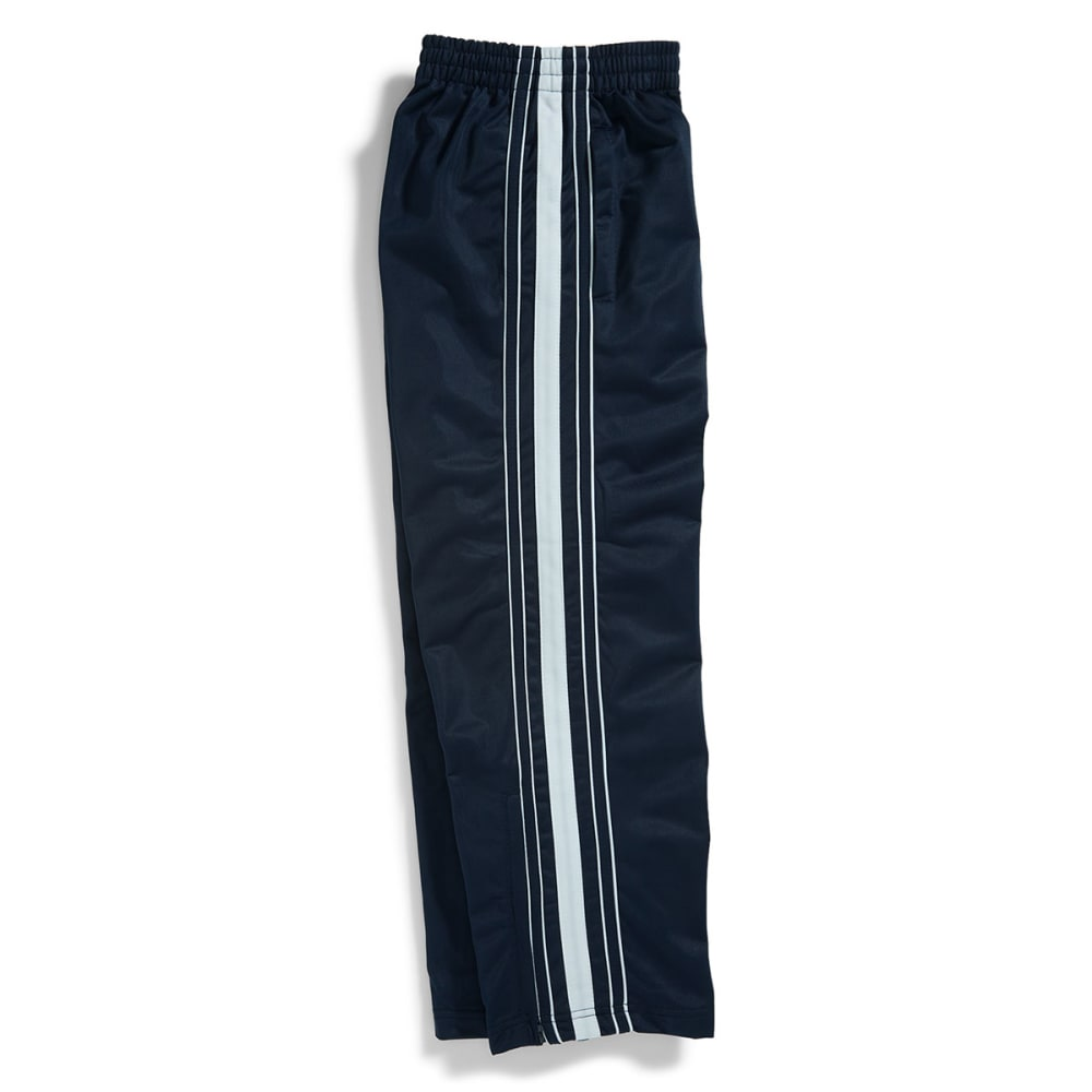 NOTHING BUT NET CLOTHING Boys' Tricot Side Stripe Pants - TWILIGHT