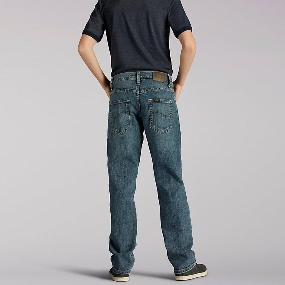 LEE Boy's Premium Select Straight Fit Jeans - DEEP BLUE 7808