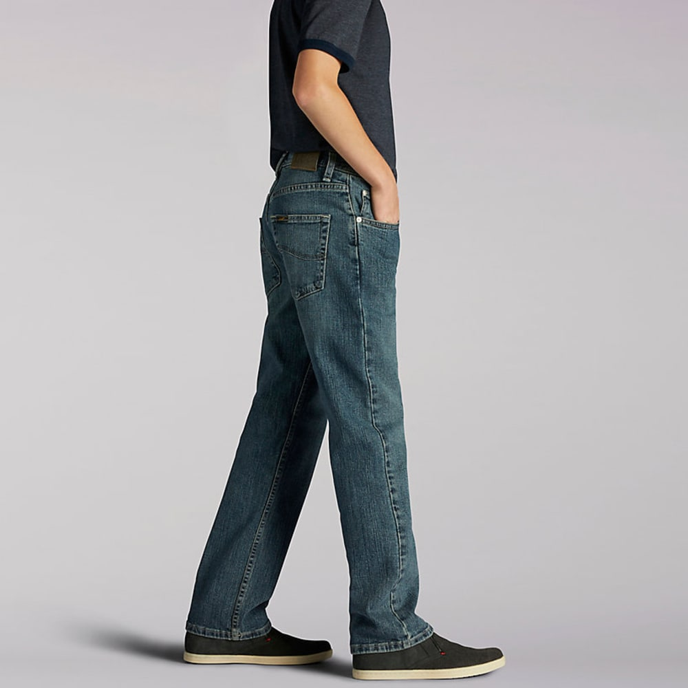 LEE Boy's Premium Select Straight Fit Jeans - DEEP BLUE 7808