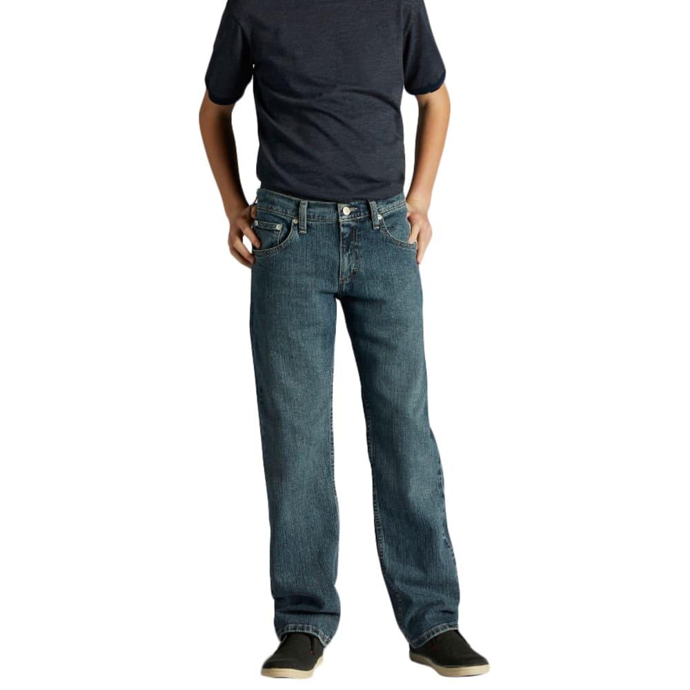 LEE Boy's Premium Select Straight Fit Jeans - Blue, 14