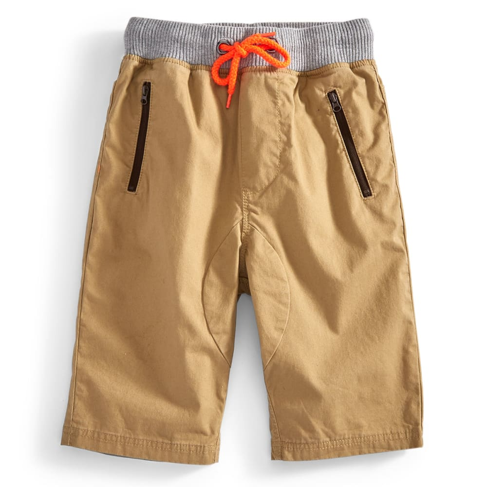 OCEAN CURRENT Boys' Gunther Shorts - DARK KHAKI