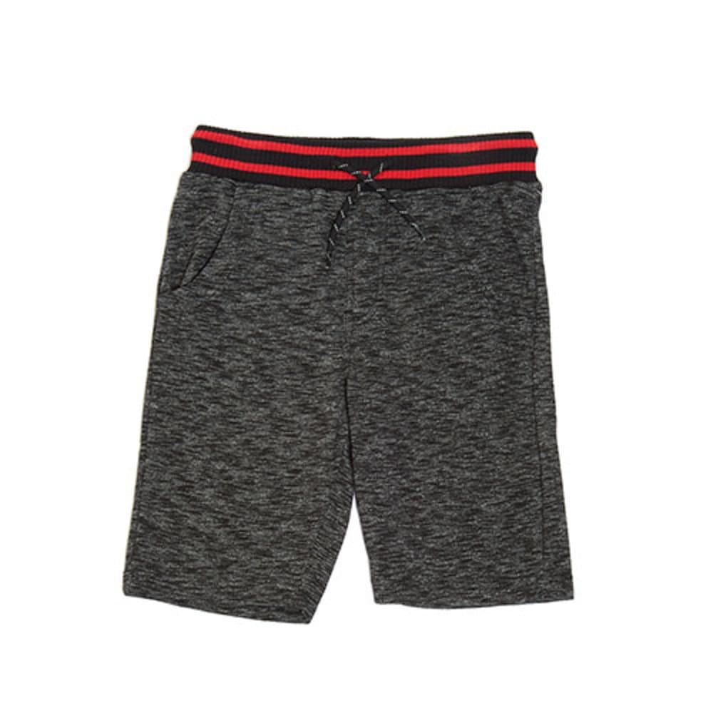 OCEAN CURRENT Boys' Andrew Streaky French Terry Shorts - BLACK