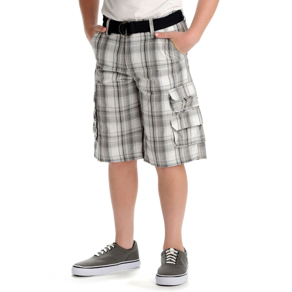 LEE Boys' Wyoming Cargo Shorts - GREY