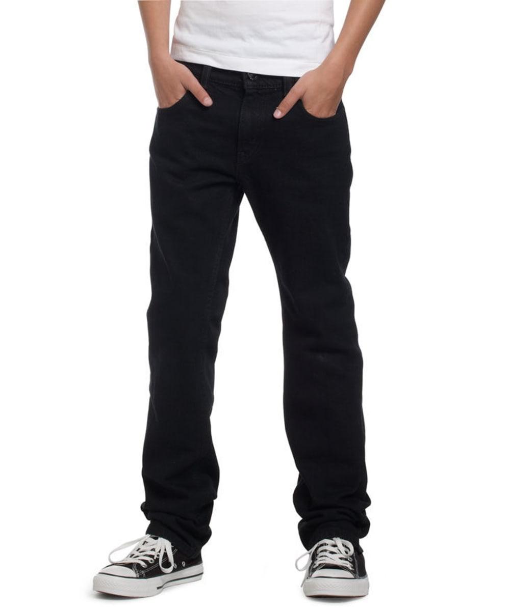 LEVI'S Boy's 511 Slim Fit Jeans - BLACK STRETCH