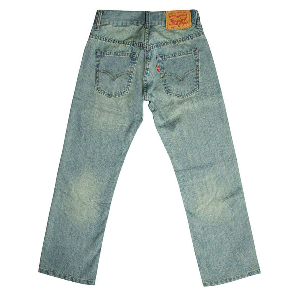 LEVI'S Boys' 505 Straight Fit Jeans - ANCHOR 91R505-856
