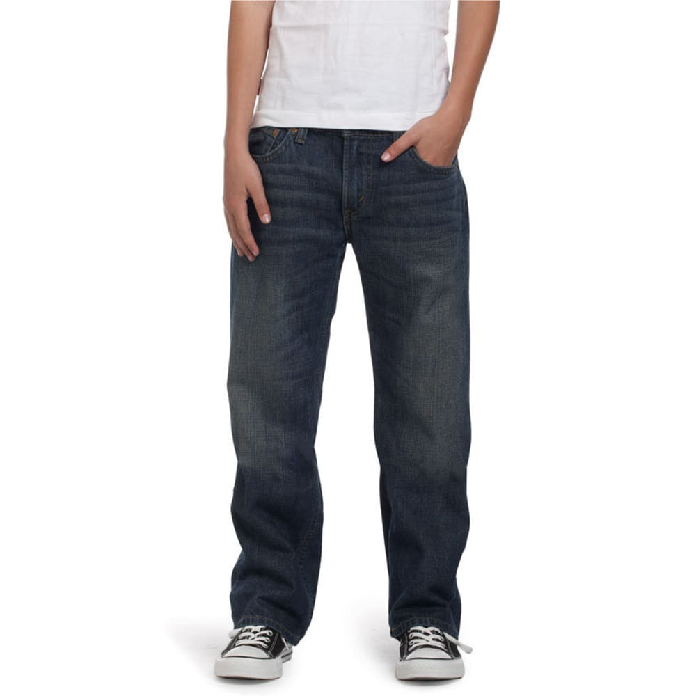 LEVI'S Boys' 505 Straight Fit Jeans - ROADIE