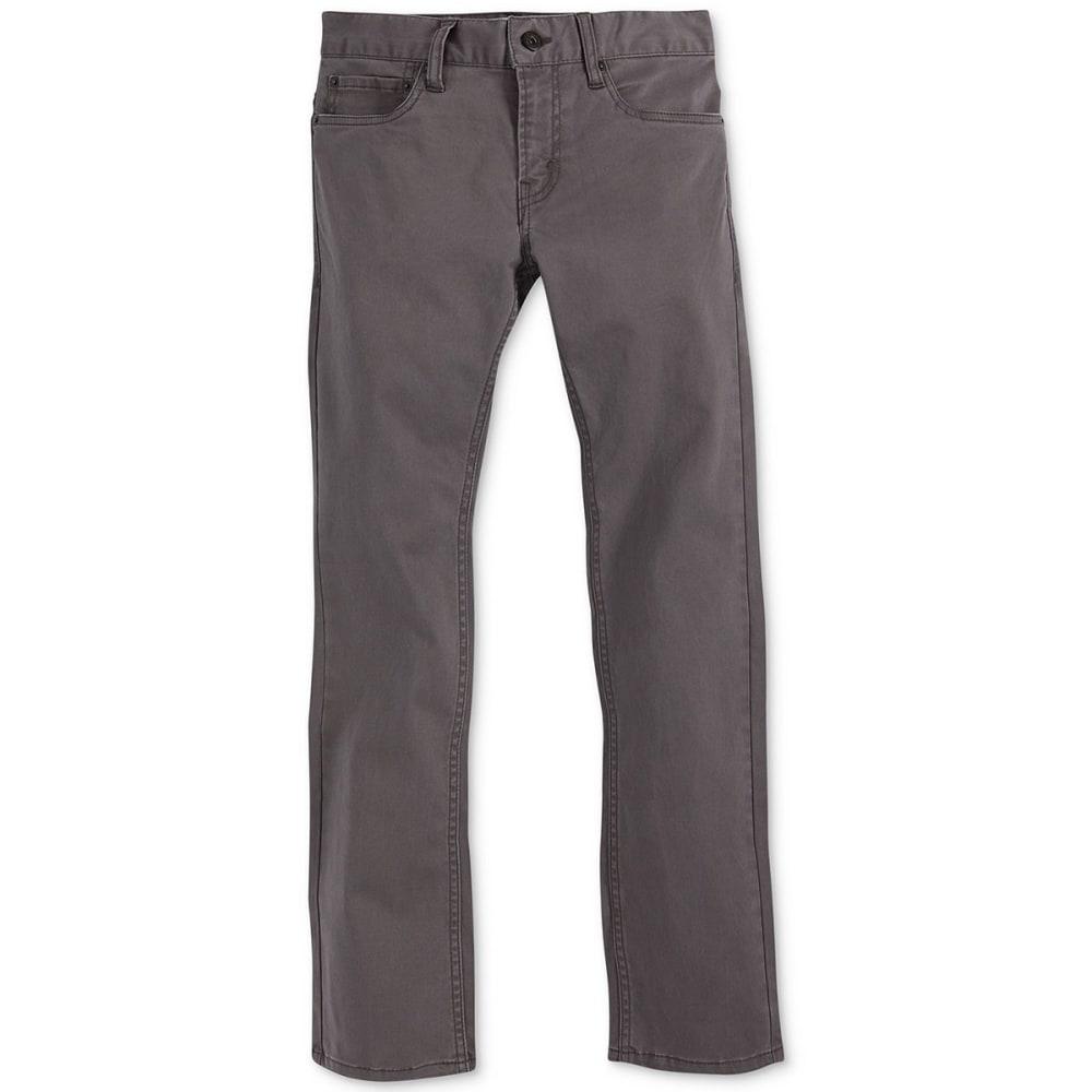 LEVI'S Boys' Slim Fit Sueded Pants 10