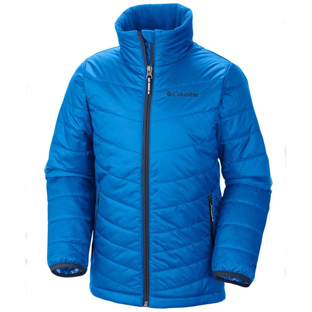 COLUMBIA Boys' Mighty Lite Jacket - HYPER BLUE