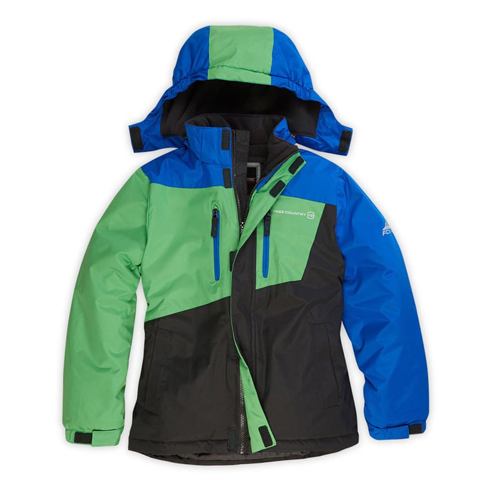 FREE COUNTRY Boys' Boomer Snowboard Jacket - ROYAL BLUE