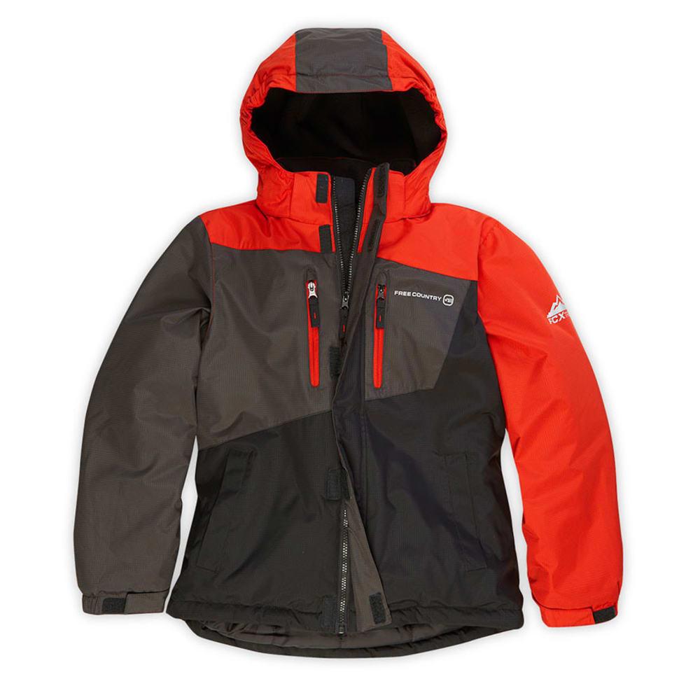 FREE COUNTRY Boys' Boomer Snowboard Jacket - ORANGE