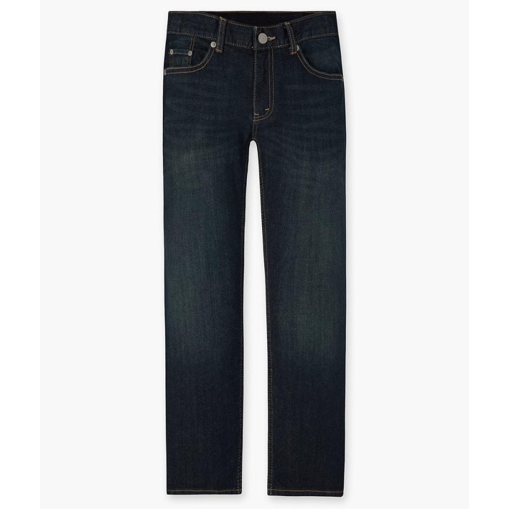 LEVI'S Big Boys' 505 Husky Straight Fit Jeans 10
