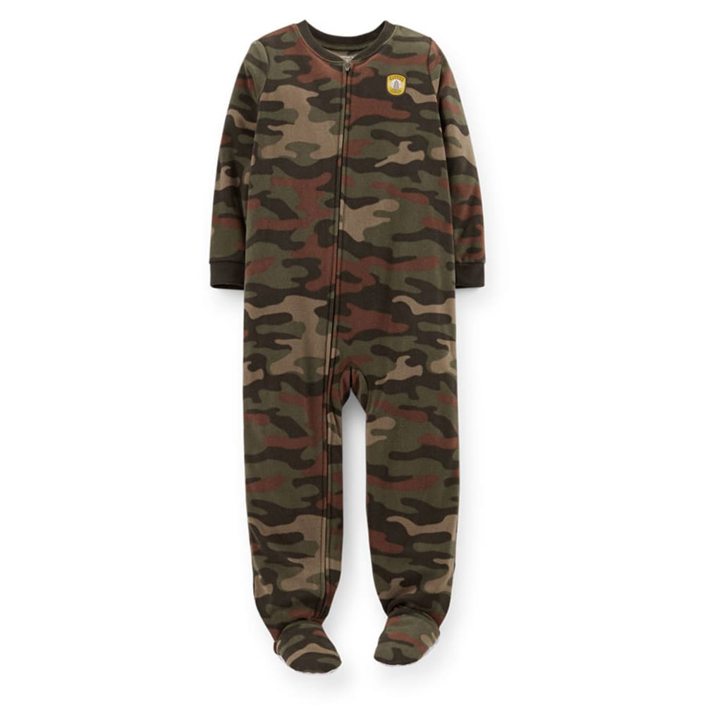 CARTER'S Boys' Camo Fleece Sleepwear  - PRINT