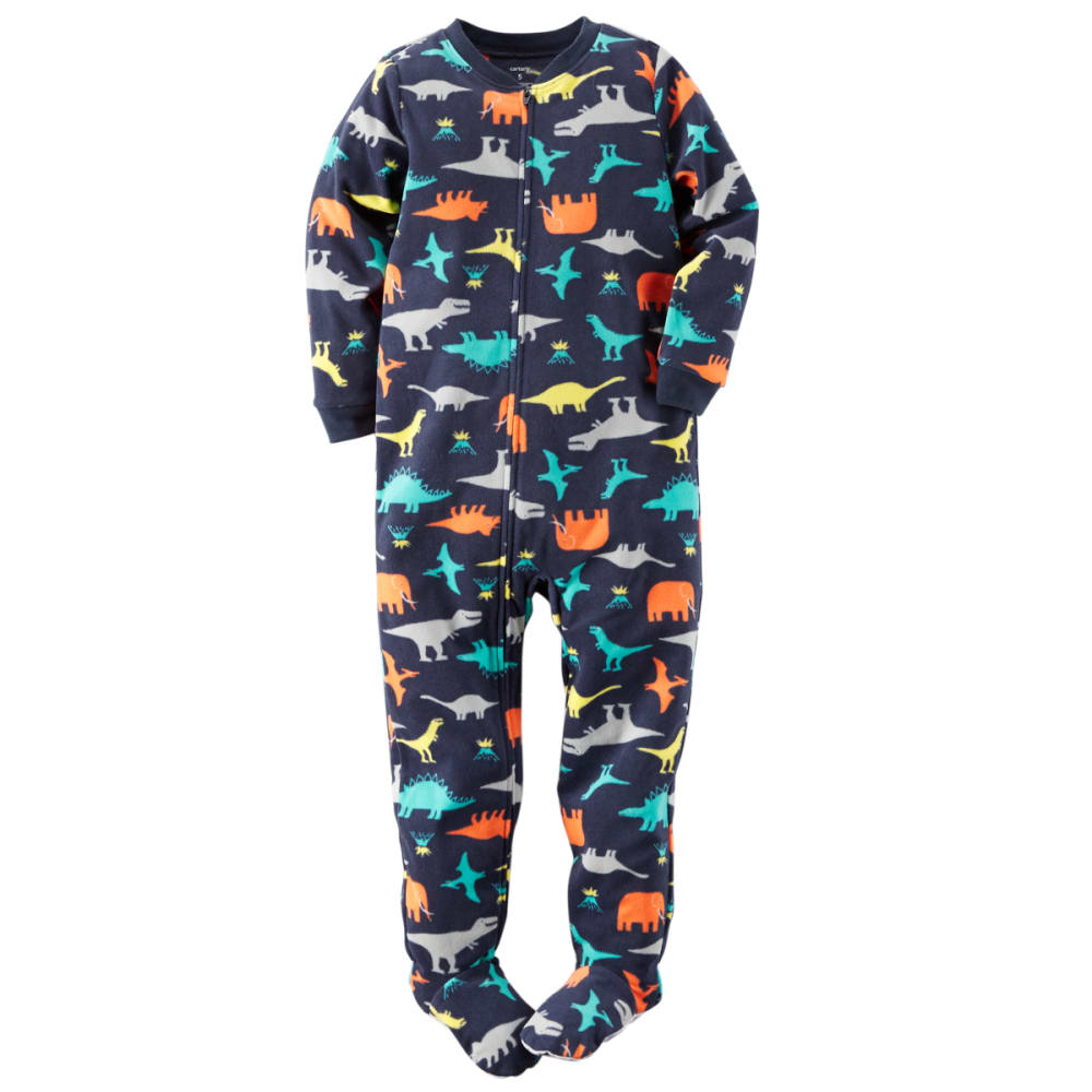 CARTERS Boys' Dinosaur 1-Piece Pajamas - NAVY