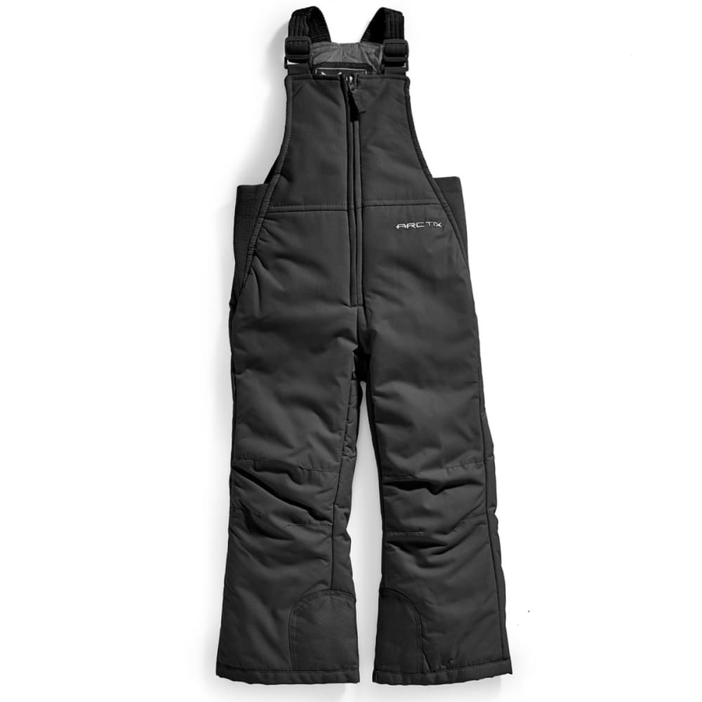 Arctix Boys Snow Bib - Black, XXS