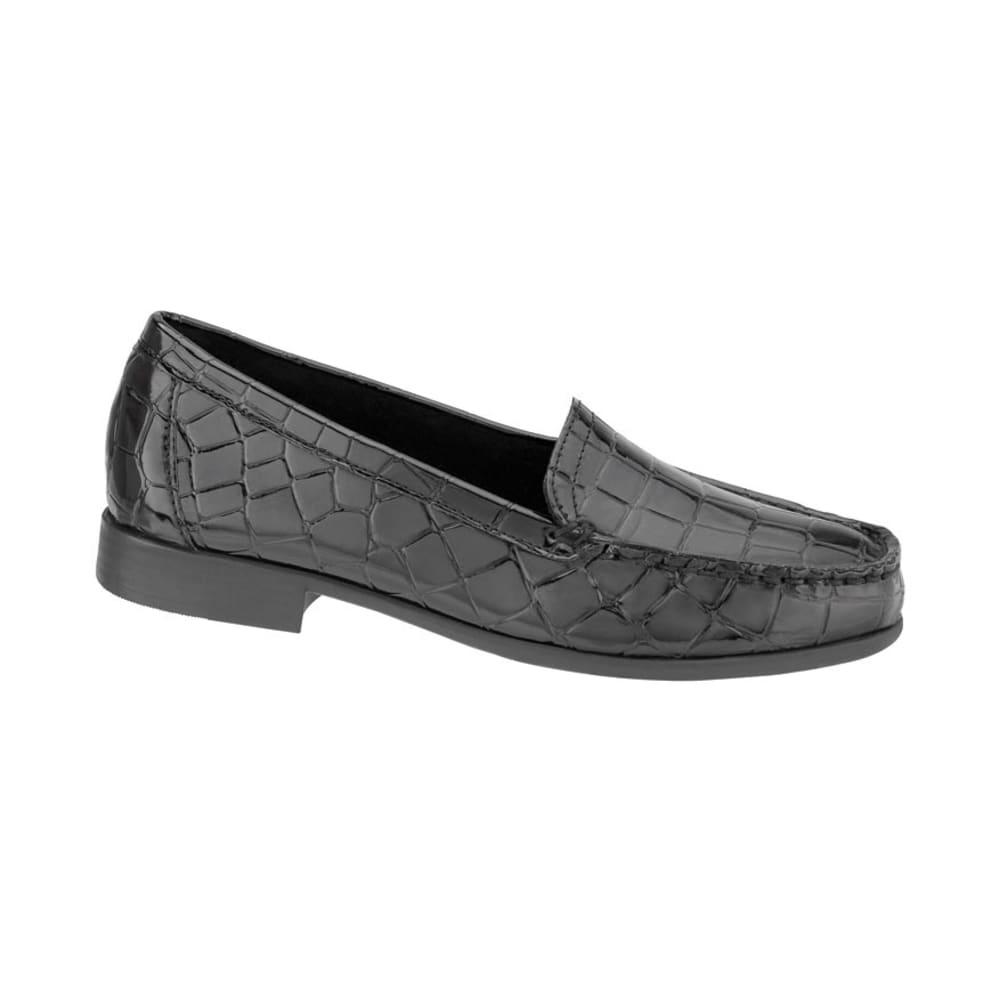 CLARKS Women's Moody Gem Crocco Loafers - BLACK