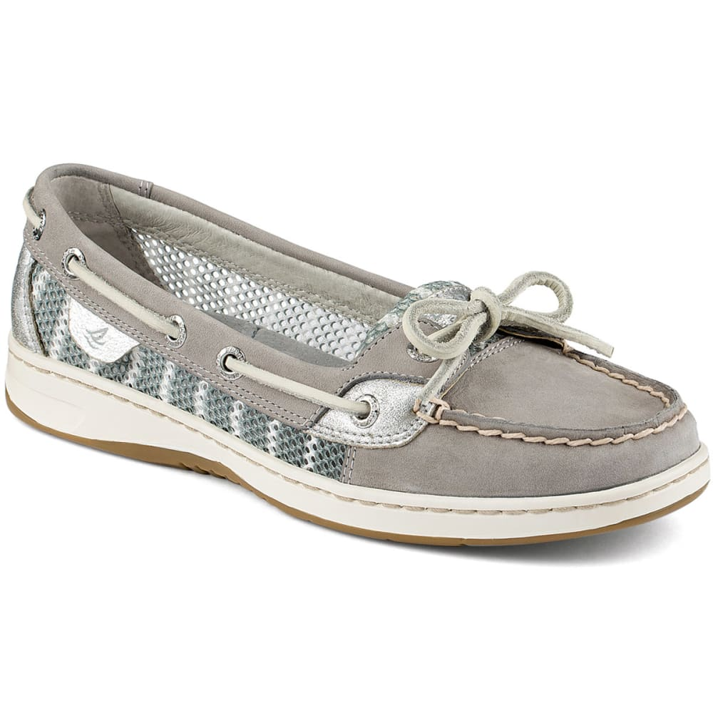 SPERRY Women's Angelfish Slip-On Boat Shoes - CHARCOAL