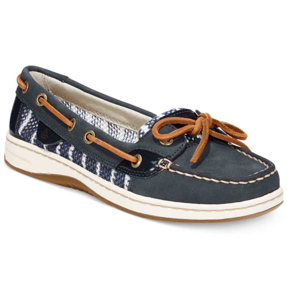 SPERRY Women's Angelfish Slip-On Boat Shoes - NAVY