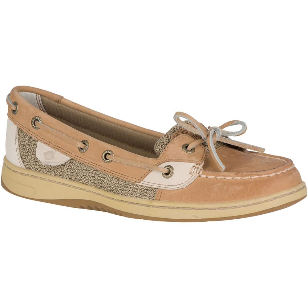 SPERRY Women's Angelfish Boat Shoes - LINEN/OAT