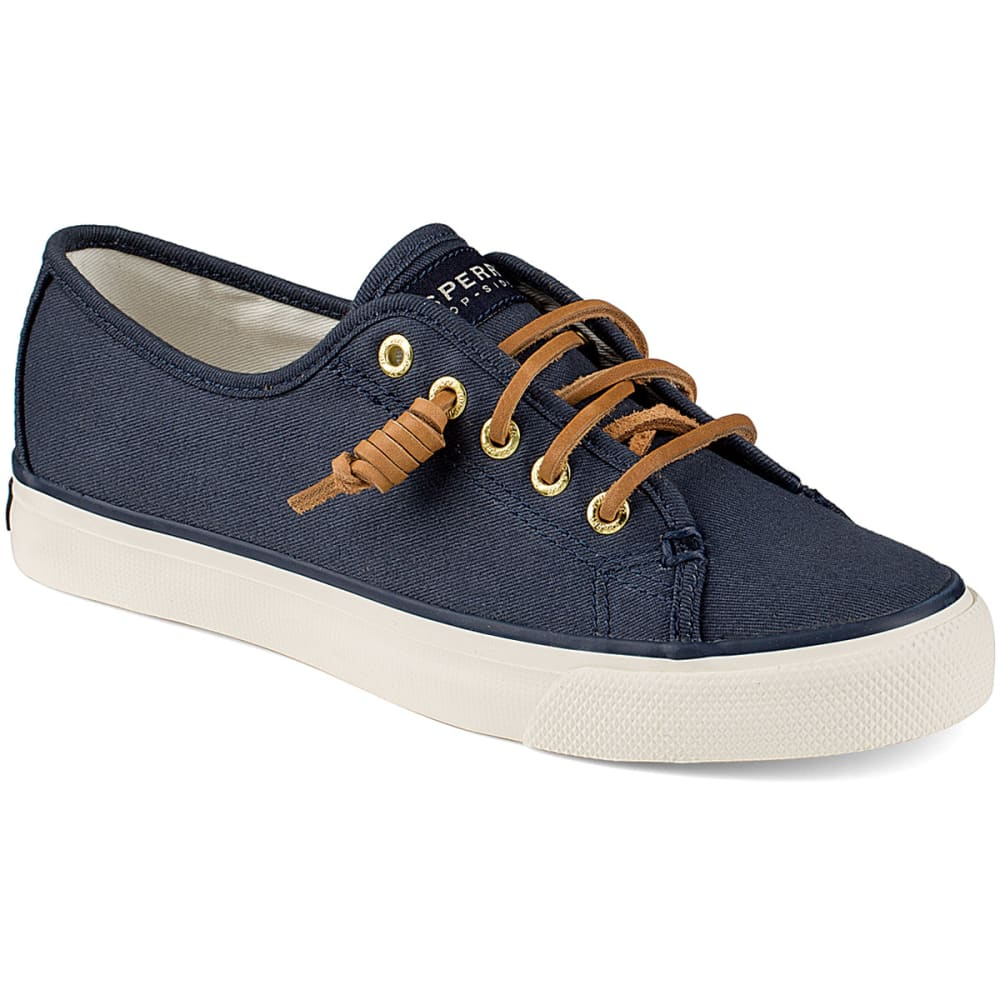 SPERRY Women's Seacoast Canvas Sneakers - NAVY