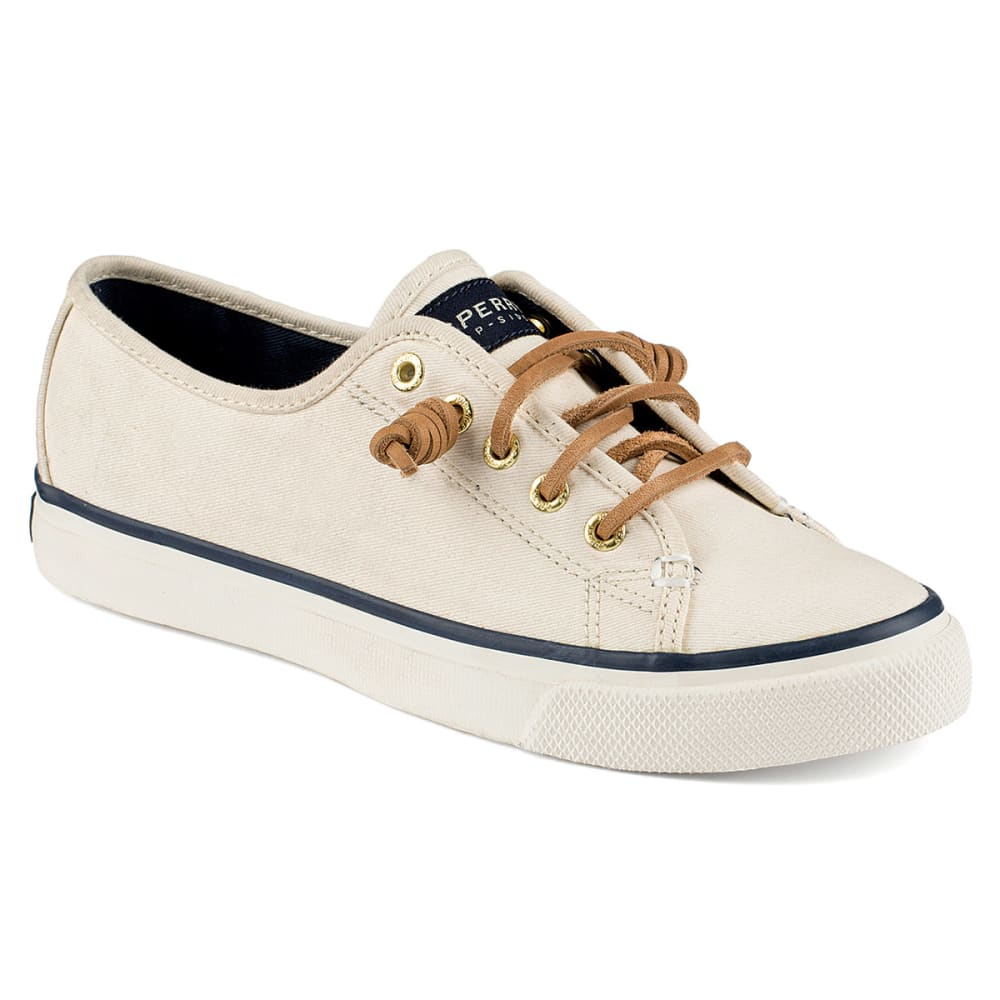 SPERRY Women's Seacoast Canvas Sneakers - IVORY