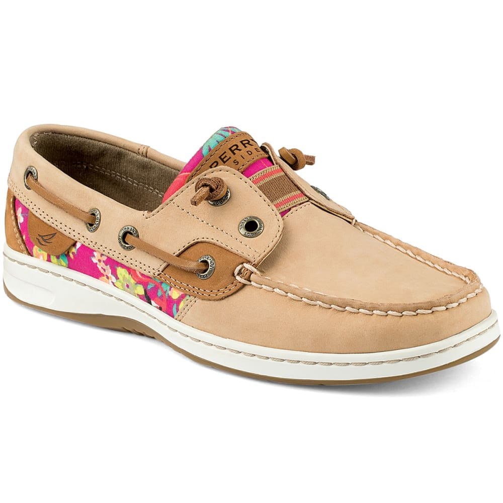 SPERRY Women's Rainbow Fish Slip-On Boat Shoes - LINEN FLORAL