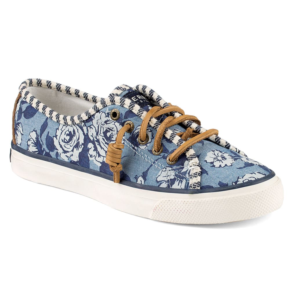 SPERRY Women's Seacoast Liberty Print Sneakers - BLUE