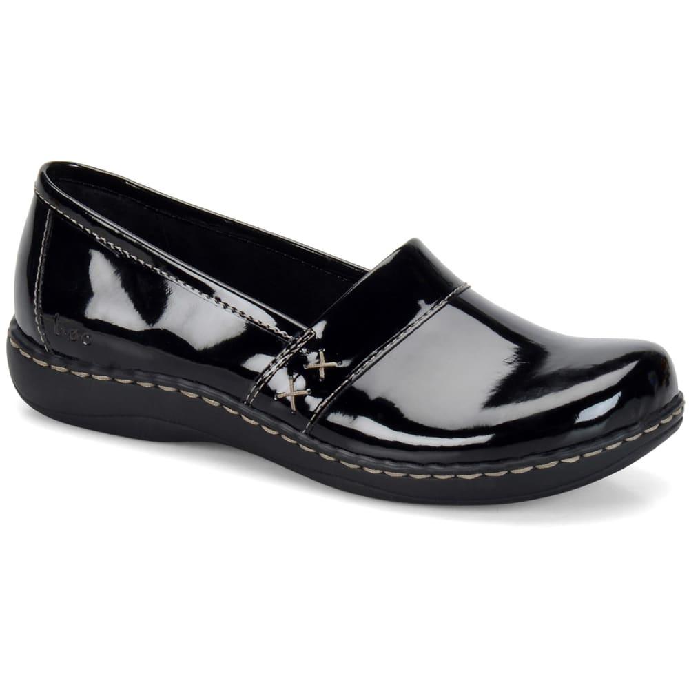 B.O.C. Women's Howell Slip-On, Wide Width - BLACK