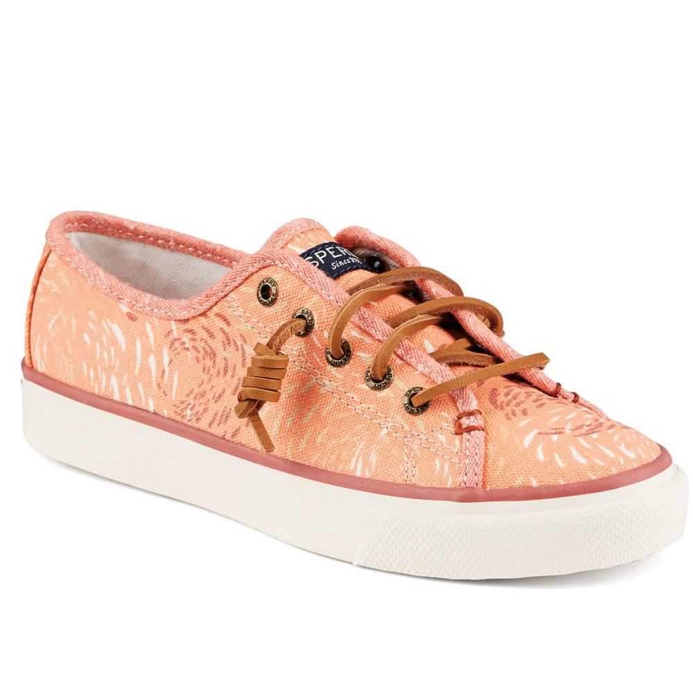 SPERRY Women's Seacoast Sneakers - CORAL FISH