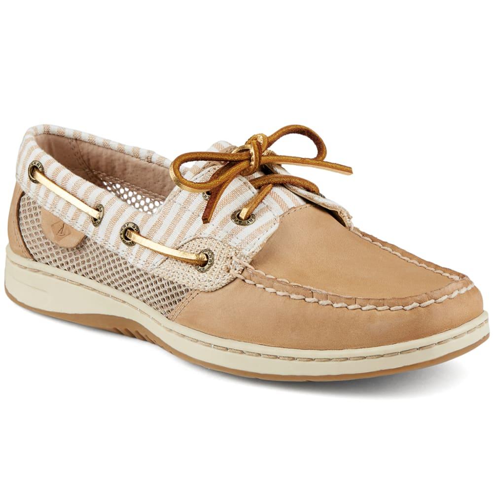 SPERRY Women's Bluefish Stripe Open Mesh Boat Shoes - LINEN FLORAL