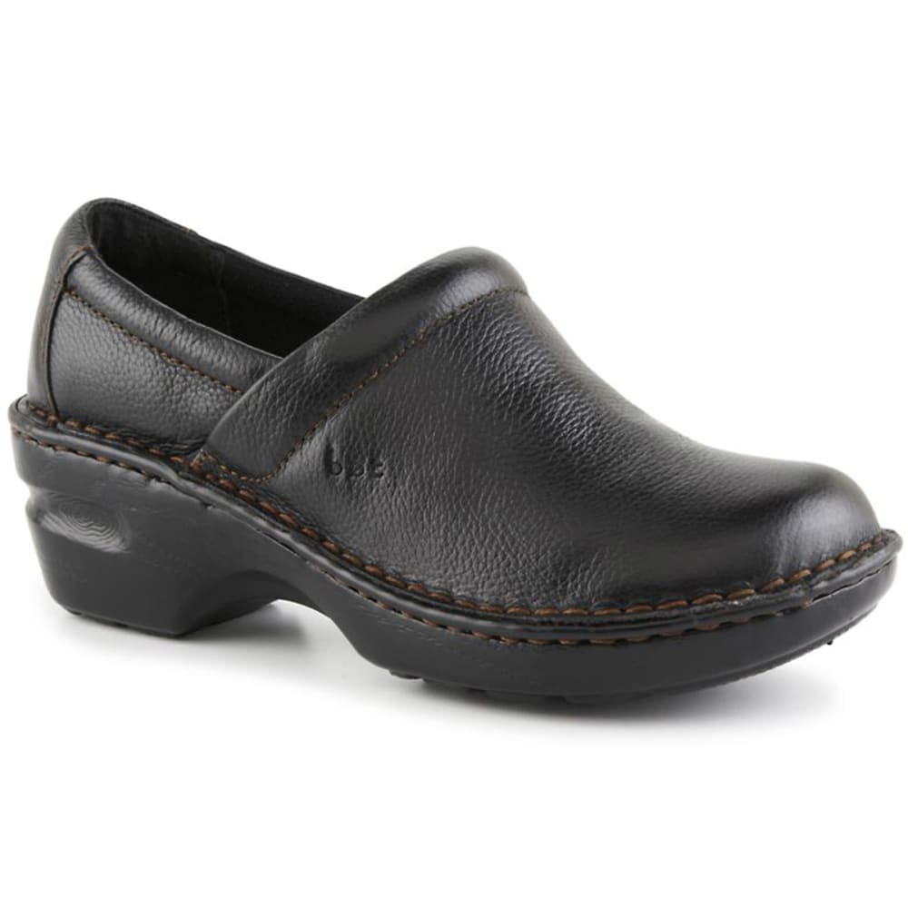 B.O.C. Women's Peggy Clogs, Black- VALUE DEAL - BLACK
