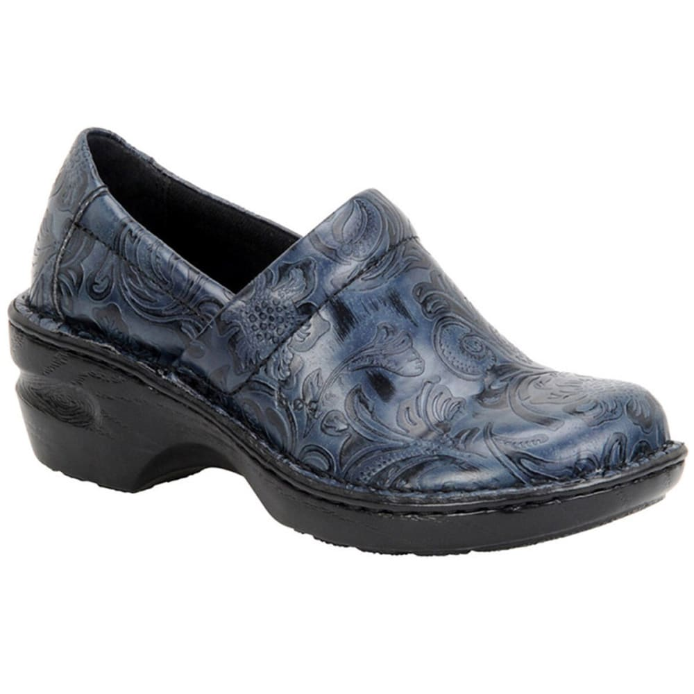 B.O.C. Women's Peggy Floral Tooled Clog 6