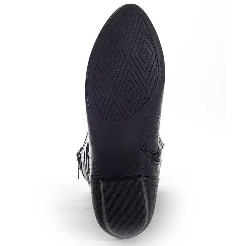 RIALTO Women's Francesca Black Boots - BLACK