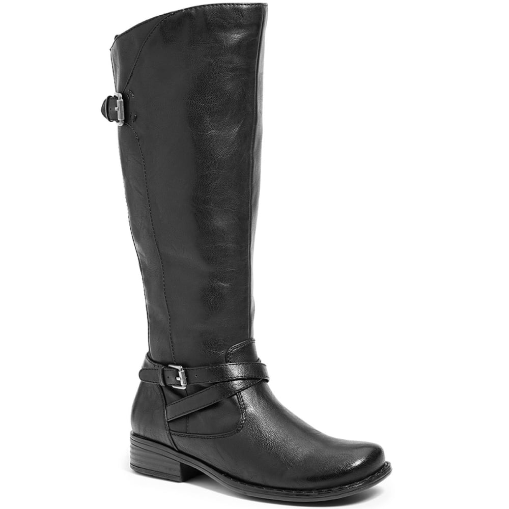 BARE TRAPS Women's Keanna Tall Shaft Riding Boots - BLACK
