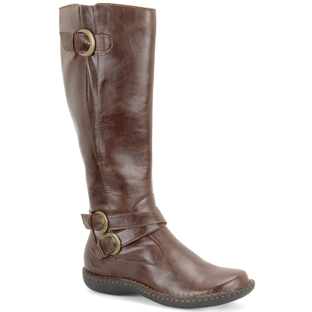 B.O.C. Women's Cybele Riding Boots - COFFEE