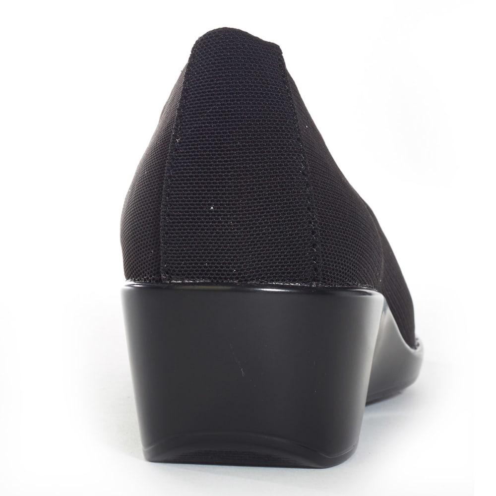 AEROSOLES Women's Temptation Mesh Slip-On - BLACK