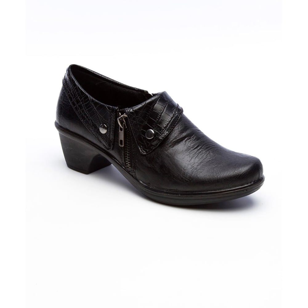 Easy Street Women's Darcy Crocco Shooties - Black, 6.5