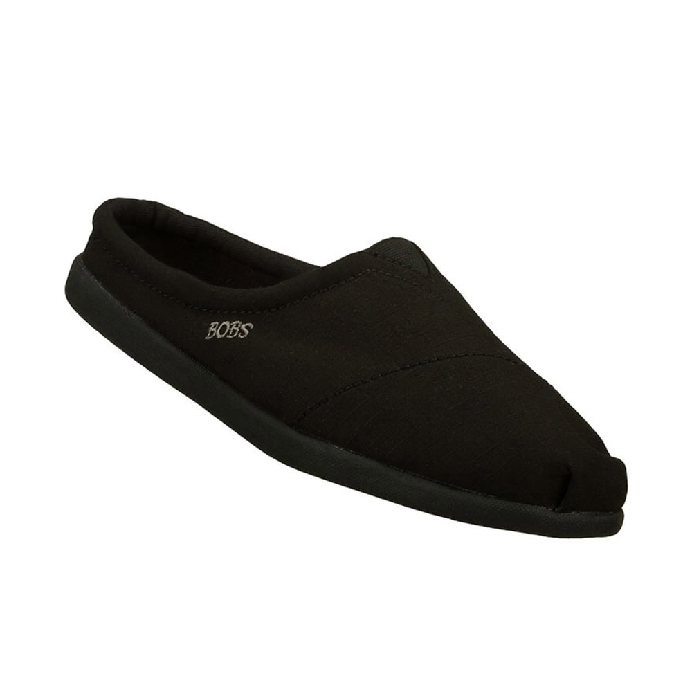 SKECHERS Women's Bobs World Kicker Open-Back Slip-On Shoes - BLACK