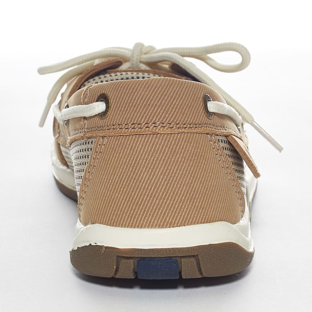 ISLAND SURF Women's Sanibel Boat Shoe - BLOWOUT - PARCHMENT