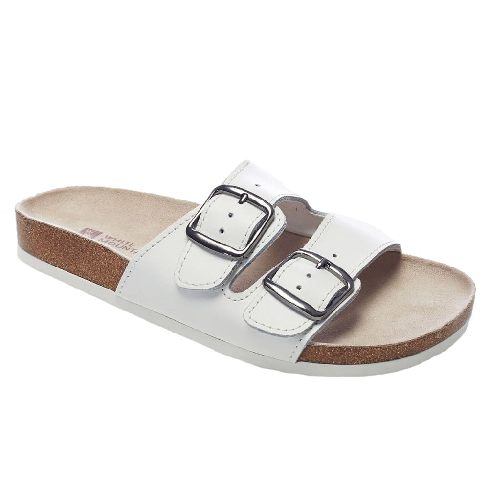 WHITE MOUNTAIN Women's Helga Double-Buckle Sandals 5