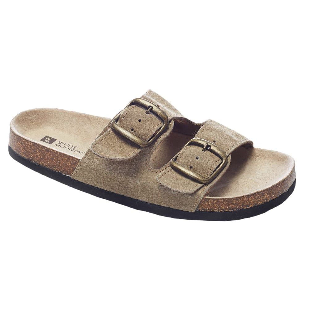 WHITE MOUNTAIN Women's Helga Double-Buckle Sandals - OLD TPE