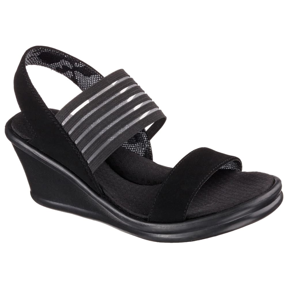 SKECHERS Women's Rumbler Sling-Back Sandals - BLACK