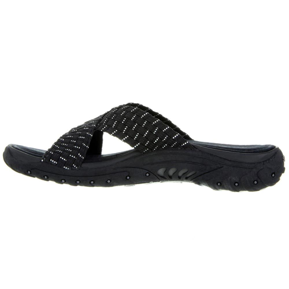 SKECHERS Women's Reggae-Rootsy Vibe Sandals - BLACK